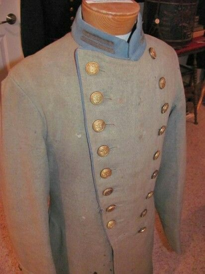 A Very Rare Confederate 1st South Carolina Frock Coat That