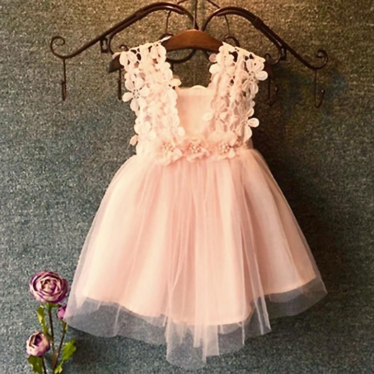 Robe chic pour fille