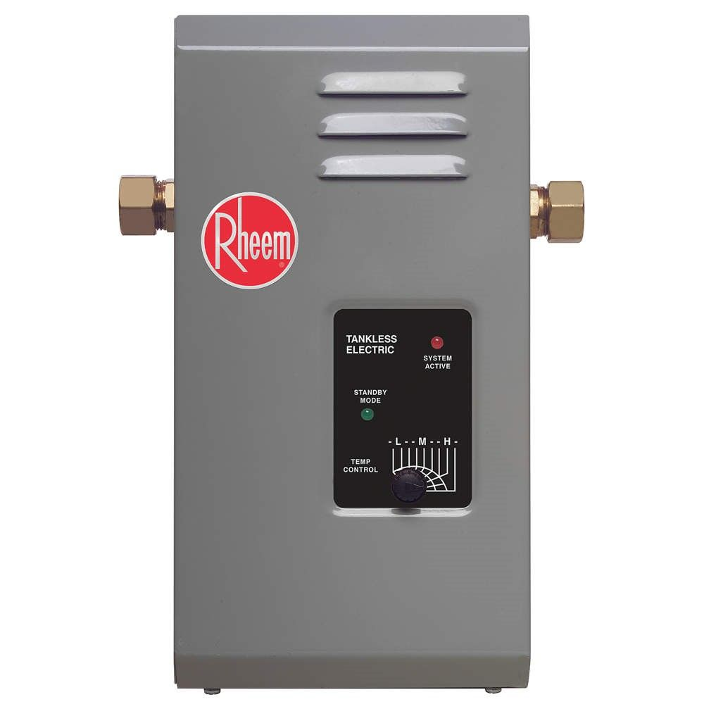 Rheem Rte 13 Tankless Electric Water Heater Locker Storage
