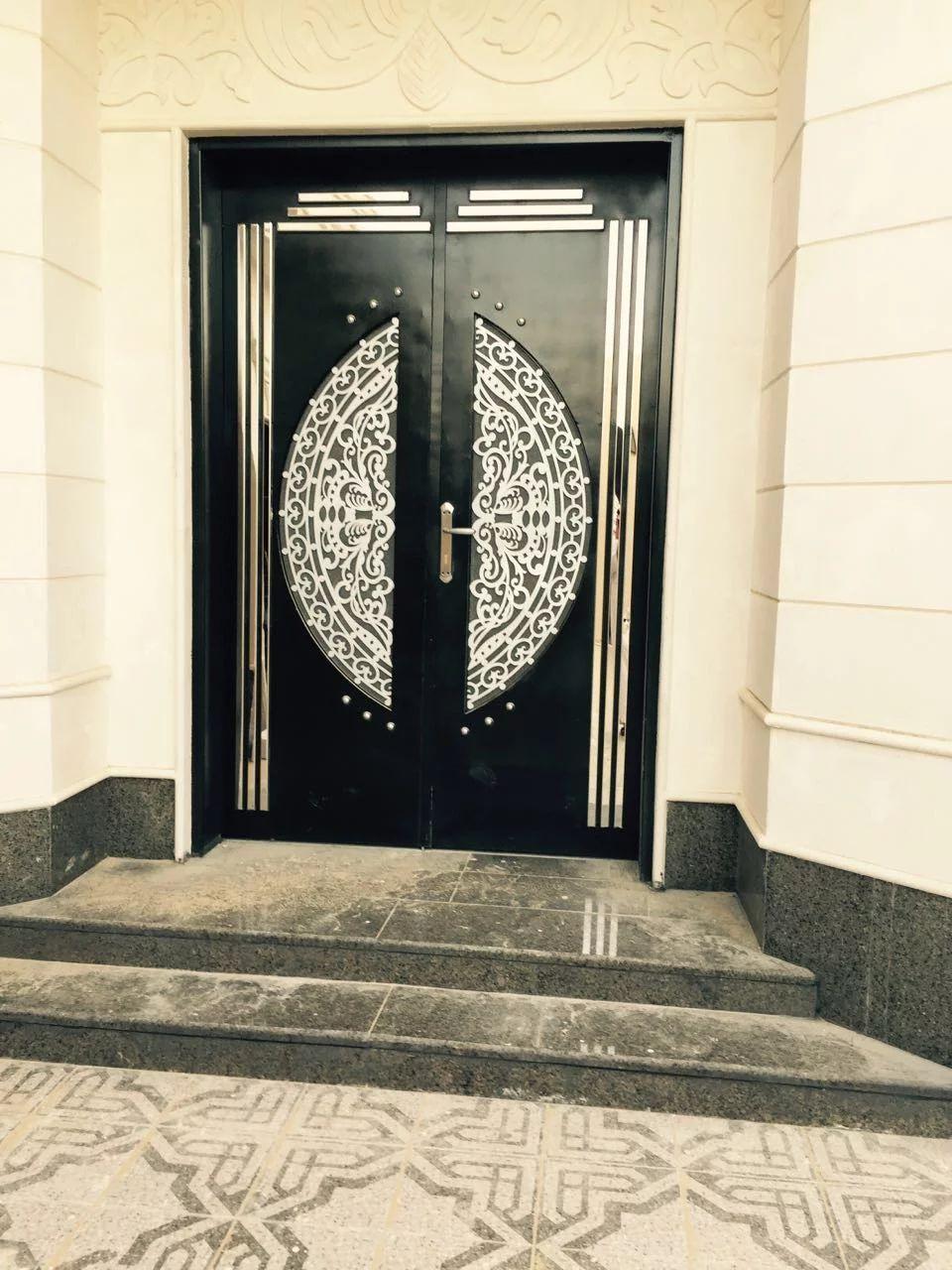 Door Metaldoor Creativemetals Saudiarabia Riyadh Laser Cnc Outdoor Entrance Door Design Iron Gate Design Wood Doors Interior