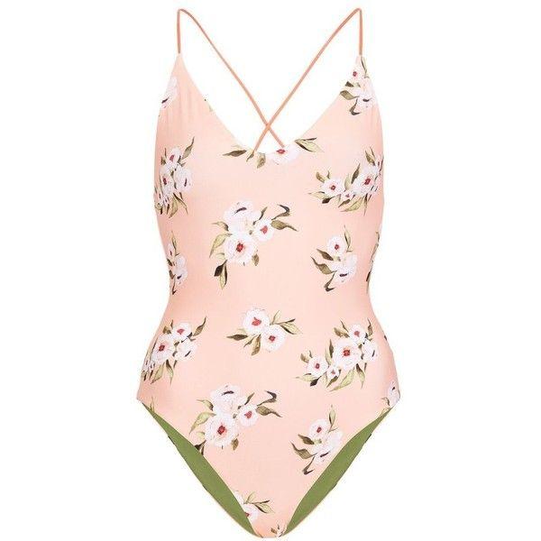 326f16a66b Women s Topshop Posie Reversible One-Piece Swimsuit (2