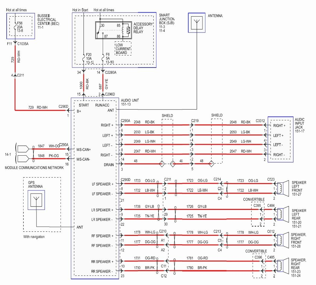 Ford Radio Wiring Diagram Download In 2020 Ford Expedition 2001 Ford Mustang 2006 Ford Mustang