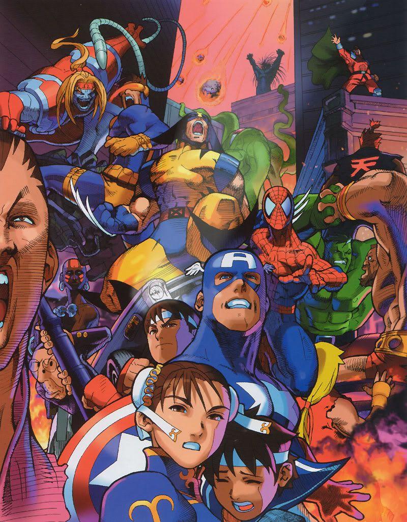 Bengus Capcom Game Art Will Knock Your Teeth Out Capcom Art Marvel Vs Street Fighter Marvel Vs