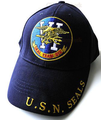e5131227362 EMBROIDERED NEW USN UNITED STATES NAVY SEAL TEAM 6 BASEBALL CAP HAT ...