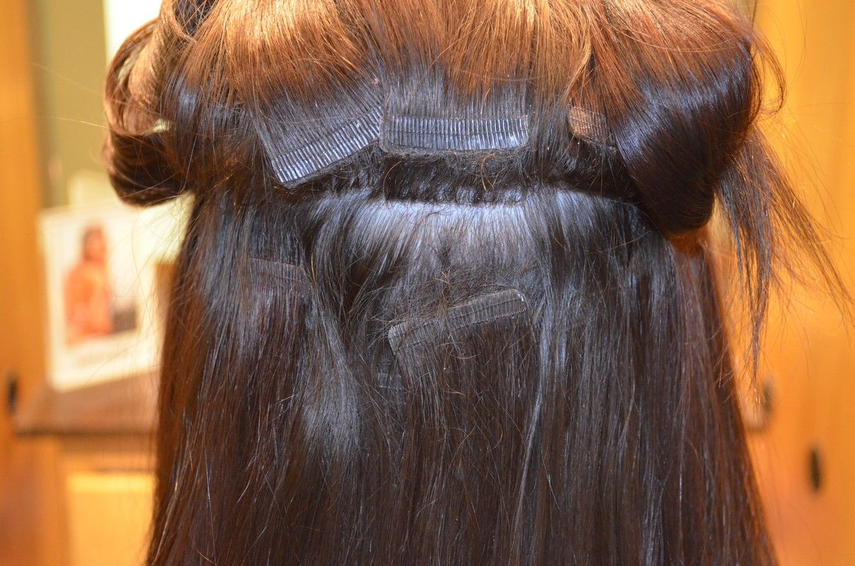 How To Sew In Virgin Hair Pinterest Hair Extensions Extensions