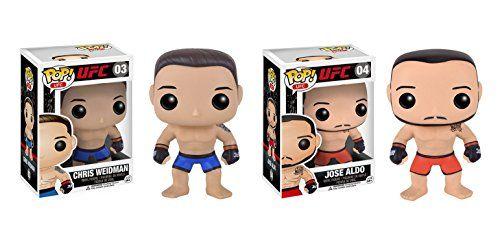Series 1 New in Box Vinyl Figure UFC JOSE ALDO Funko POP