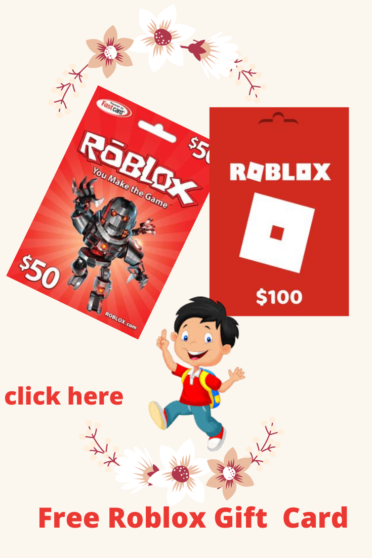 Free Roblox Gift Cards In 2020 Roblox Gifts Gift Generator Gift Card