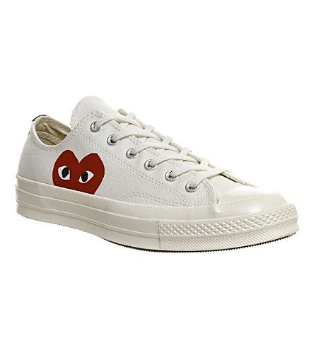 cdg converse low womens