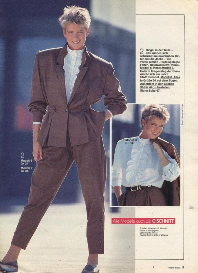 neue mode 1987 mode 80er jahre pinterest neue mode. Black Bedroom Furniture Sets. Home Design Ideas