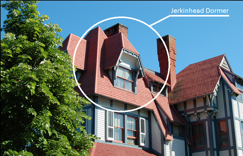 A Jerkinhead Roof Has A Hipped Gable Instead Of Rising To A Point The Gable Is Clipped Short And Appears To T Gable Roof Design Roof Architecture Roof Design