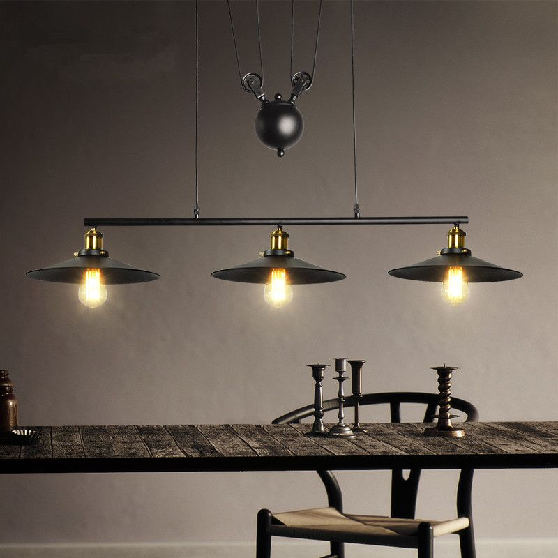 pulley pendant lighting. Find More Pendant Lights Information About Industrial Vintage Edison Pulley Adjustable Wire Retractable Lamp Lighting