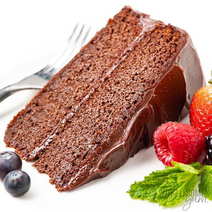 The Best Keto Chocolate Cake Recipe | Wholesome Yum in ...