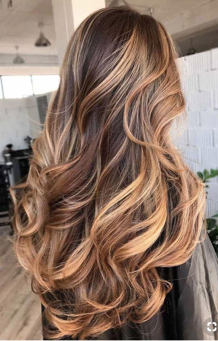 Hairstyles Honey Caramel Balayage On Dark Brown Hair Eye Catching Brown Hair With Highlights Honey Brown Hair Brunette Hair Color