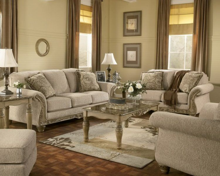 Salon déco style victorien moderne en 48 idées Pinterest Salons - wohnzimmer ideen braune couch