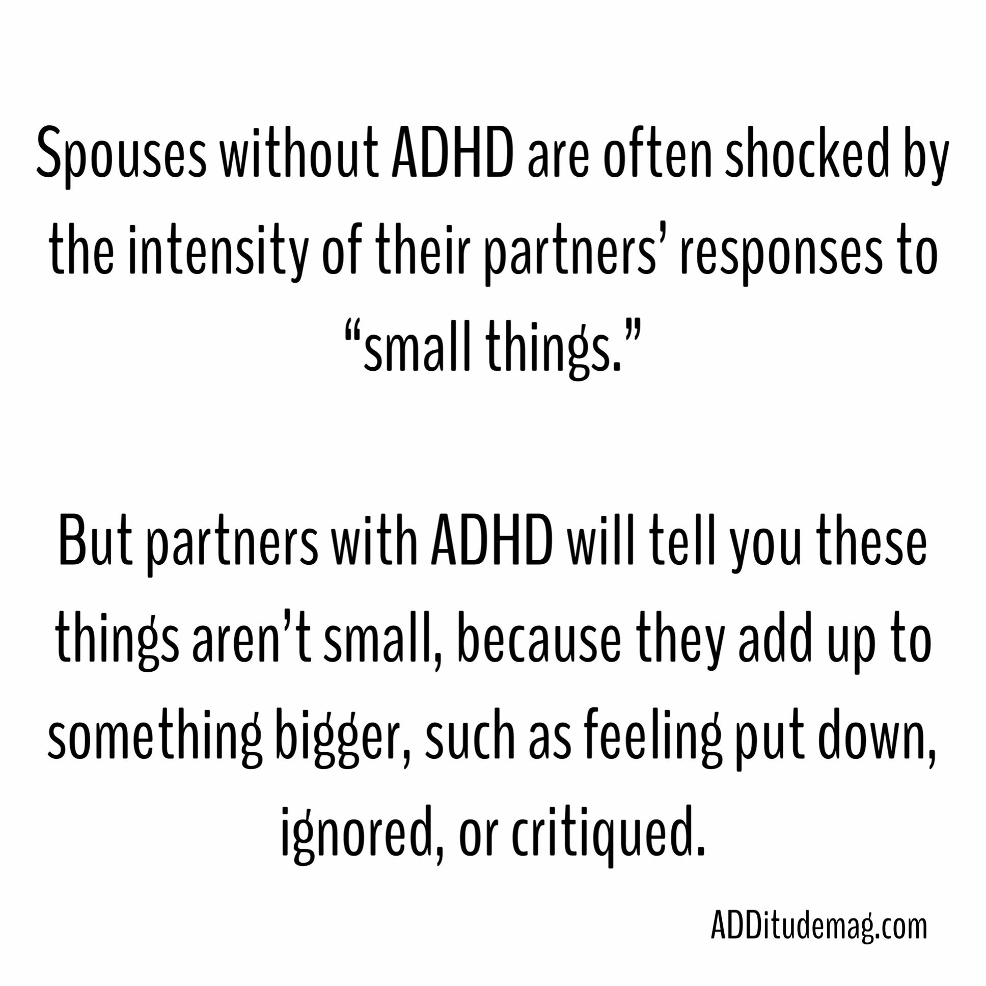 """""""What I Wish My Partner Knew About My ADHD / ADD"""""""