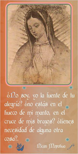 Tarjetas y oraciones catolicas tarjetas virgen de guadalupe blessed mother thecheapjerseys Choice Image