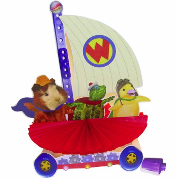 One 8 In X 9 5 In Wonder Pets Centerpiece The Wonder Pets Are