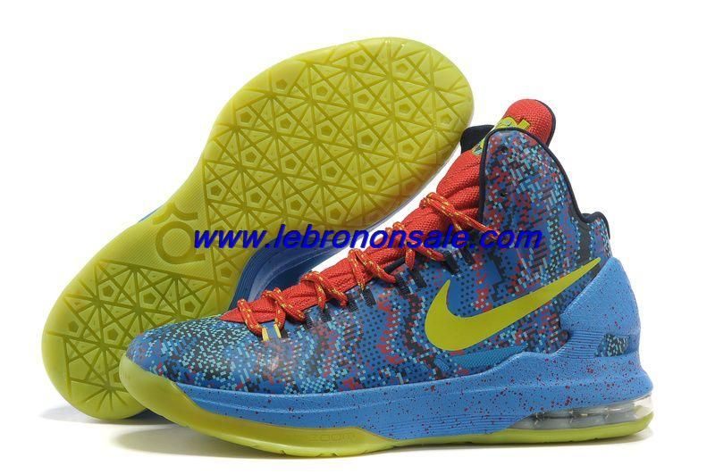 check out 0c066 6d9af Buy Nike Zoom KD V Christmas Basketball Shoes For Wholesale