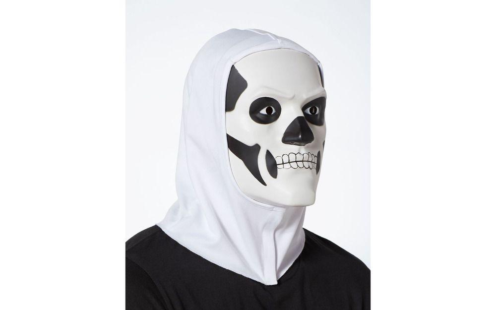 Rare Fortnite Skull Trooper Halloween Mask Costume New 2018 Free