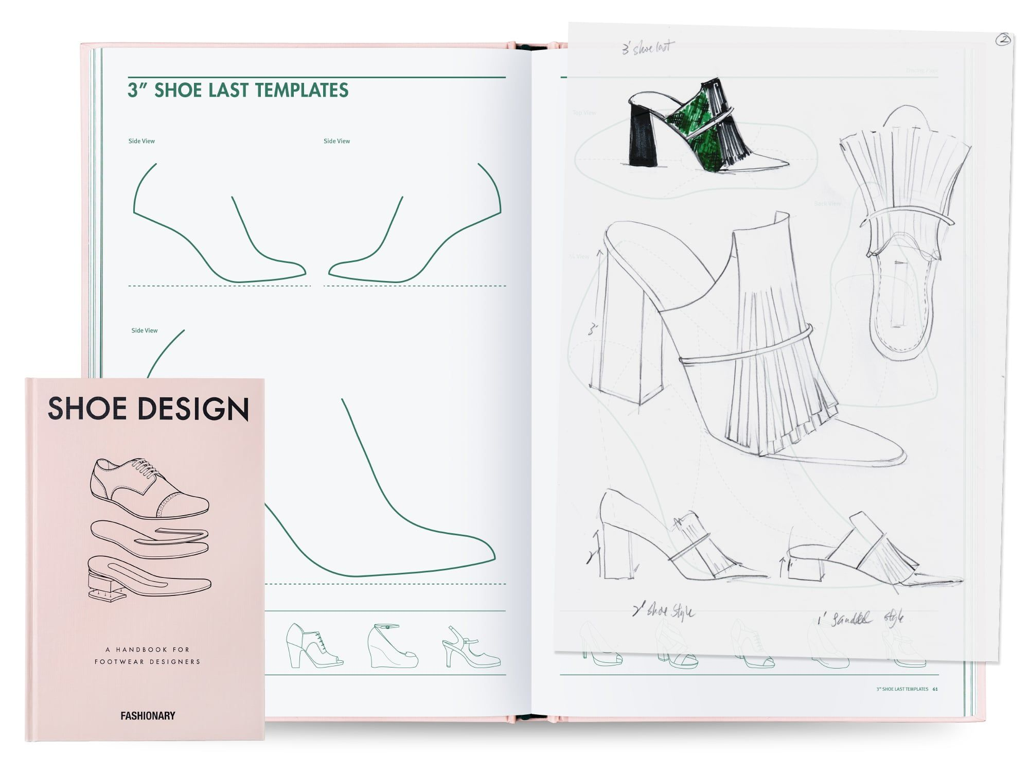 Features The Most Complete Handbook Of Shoe Design With The