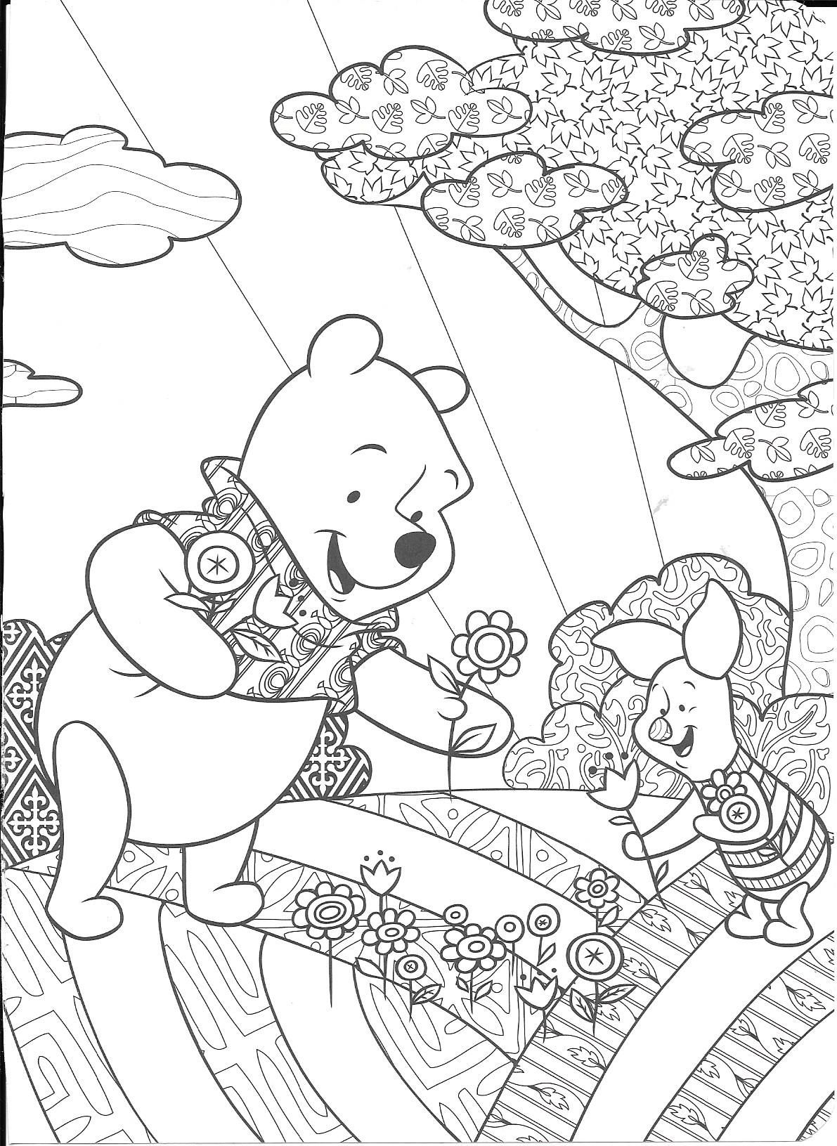 Pin By Noella Barbier Norigeon On Coloring Bee Coloring Pages Disney Coloring Sheets Disney Coloring Pages [ 1631 x 1191 Pixel ]