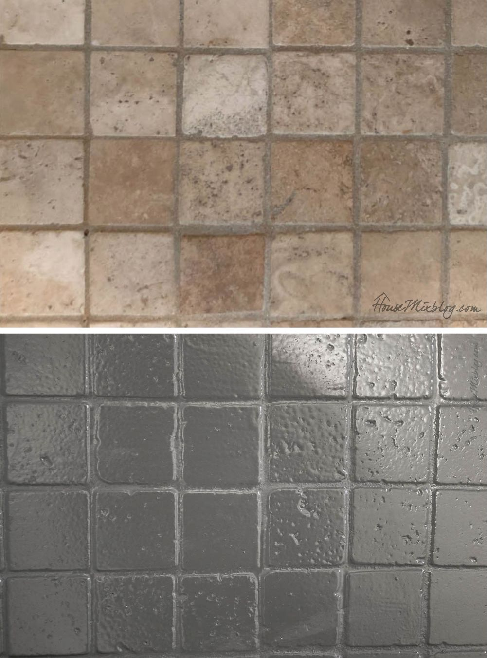 How To Paint Bathroom Tile Floor Shower Backsplash Painting Bathroom Tiles Painting Shower Shower Floor Tile