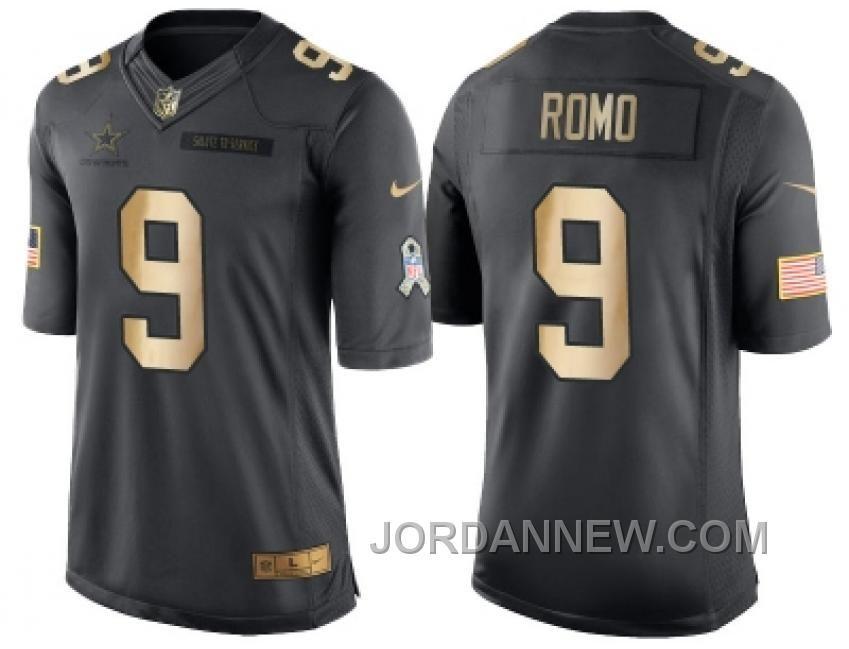 Buy Nike Dallas Cowboys Dak Prescott Anthracite 2016 Christmas Day Gold  Mens NFL Limited Salute To Dallas Cowboys Tony Romo 9 Nike Elite Authentic  ... 83e33f09a