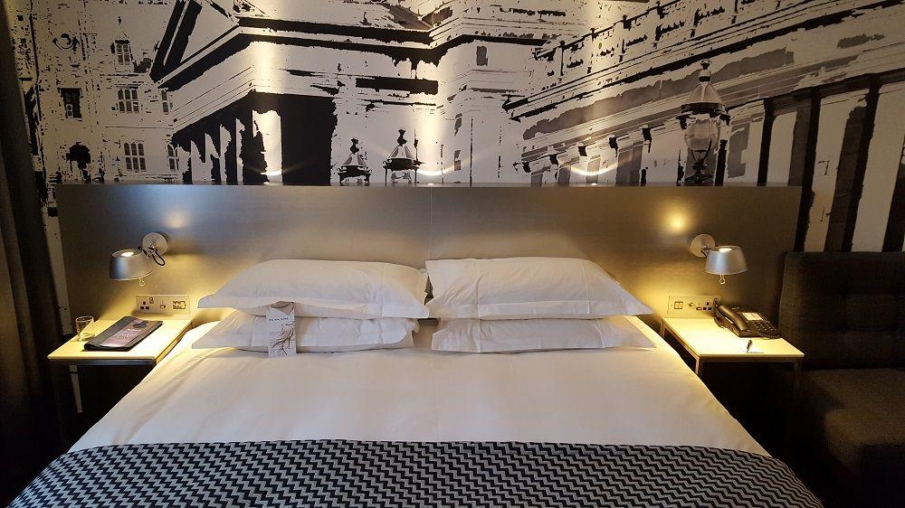 Bedroom Of Radisson Blu Edinburgh Business Class Suite