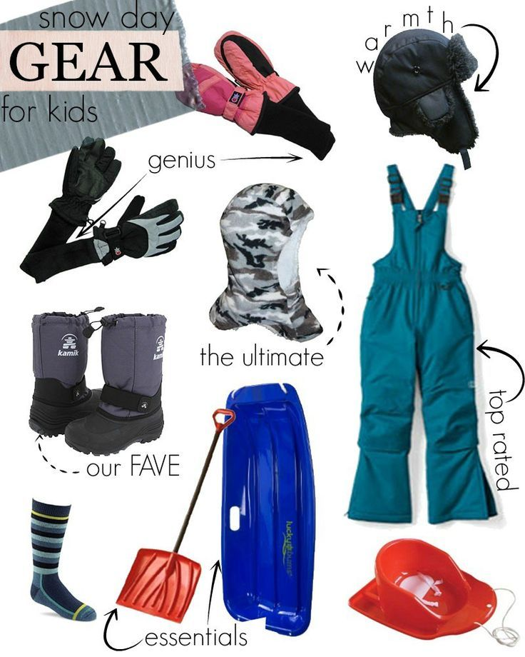 c7e25d9ed3 Best snow gear for kids! A collection of top rated winter gear for the snow  loving loves in your life.