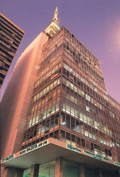 Série Avenida Paulista: do palacete de von Hardt às escadarias do Gazeta   Projeto São Paulo City