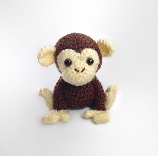 Maurice the Monkey amigurumi pattern by Hooked On Patterns | Labores ...