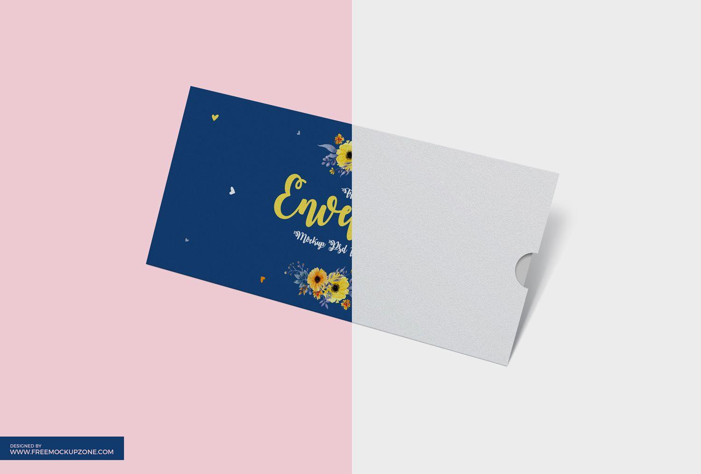 envelope mockup free psd template mockup pinterest mockup psd