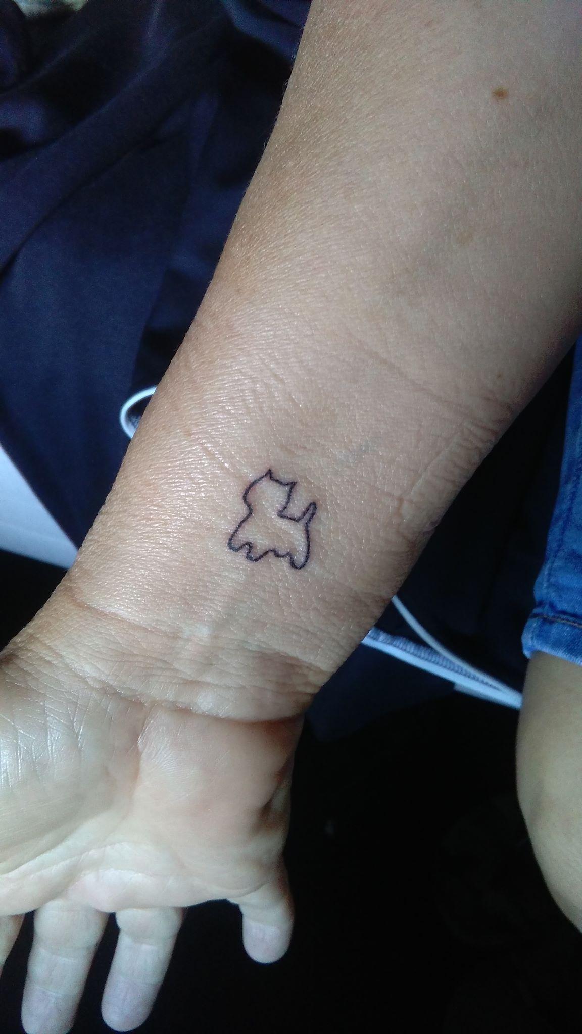 Mijn Westy Tattoo Dog Tattoos Tattoos Cute Tattoos