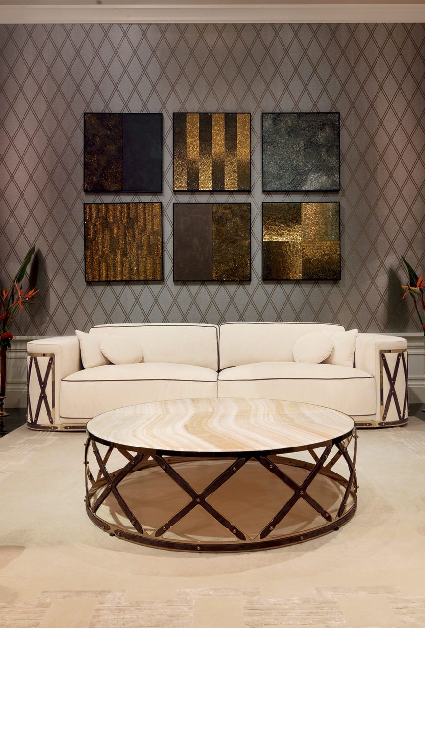 Modern Center Table With Cold Whitescontemporary Artworkluxury Mesmerizing Modern Center Table Designs For Living Room Inspiration