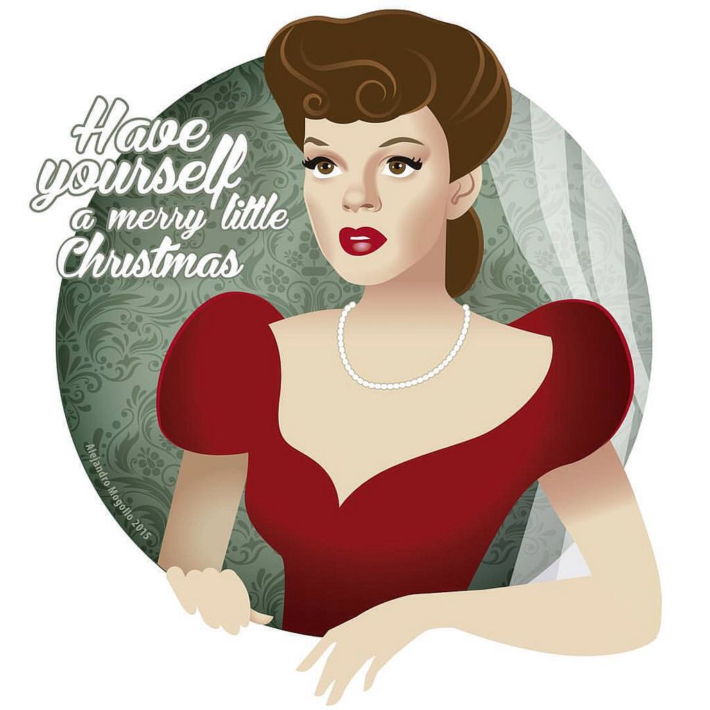 Judy Garland sings Have yourself a merry little Christmas in Meet me ...