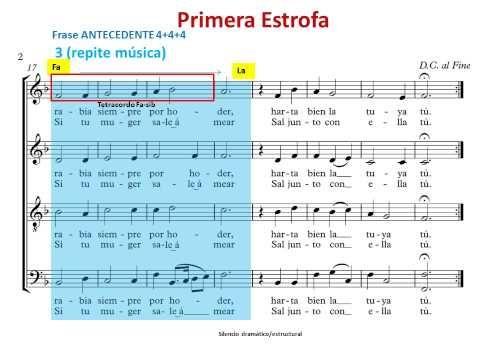 Juan De La Encina Cucú Villancico Análisis Musical