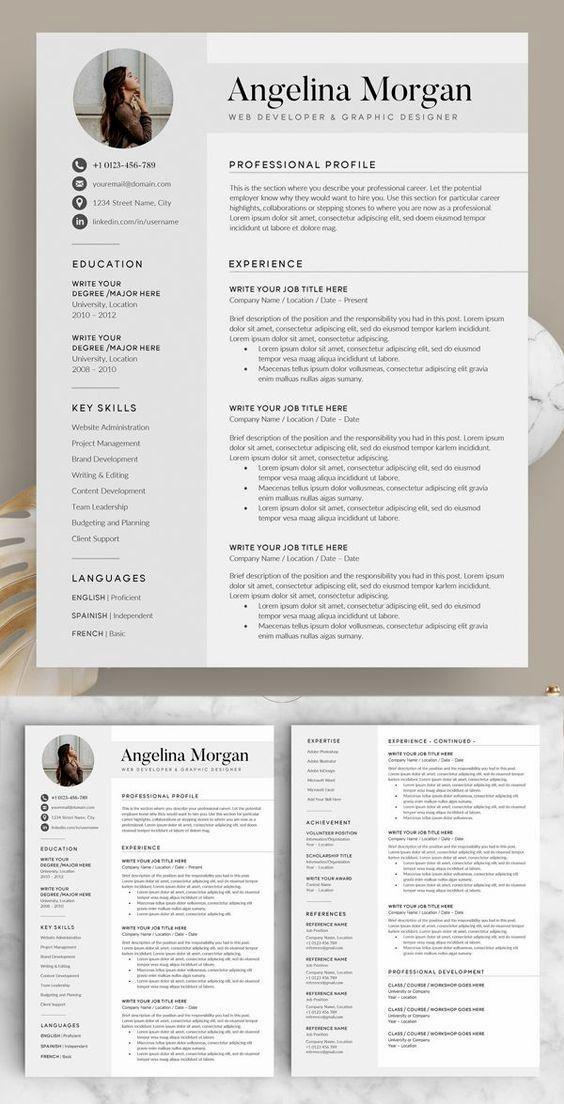 Best designer resume
