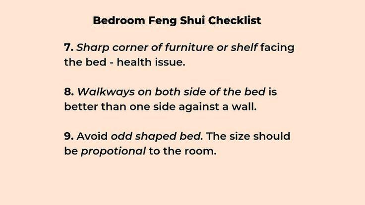 Schlafzimmer Feng Shui Checkliste und häufige Fehler