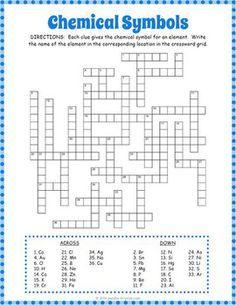 Chemical symbols crossword puzzle student learning periodic chemical symbols crossword puzzle periodic table wordsperiodic urtaz Choice Image