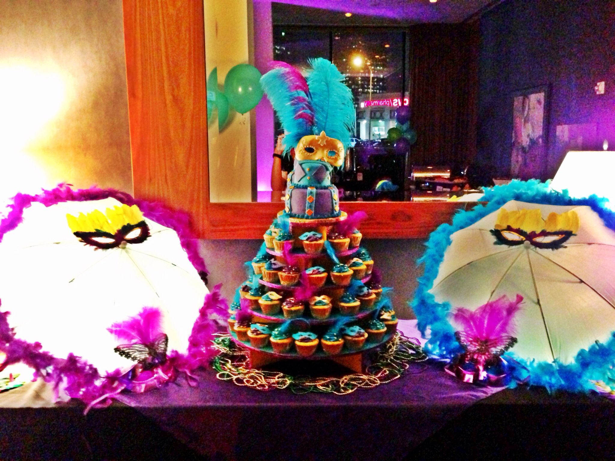 New Orleans Masquerade Sweet 16 Girls Birthday Party By Chloe Cook Events Teen Parties Girl