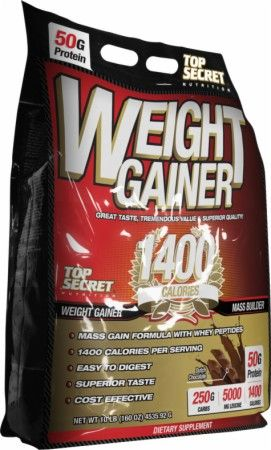 Top Secret Nutrition Weight Gainer 1400 Review – Dutch