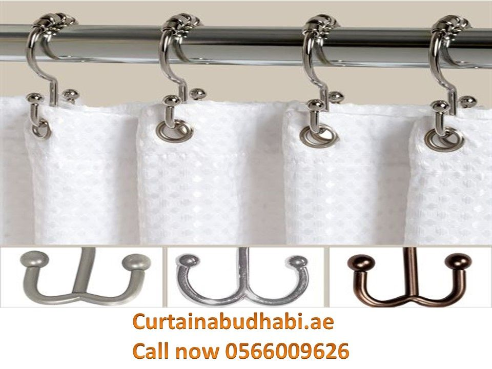 Curtain Hooks Abu Dhabi In 2020 Shower Curtain Hooks Double Shower Curtain Shower Curtain Decor