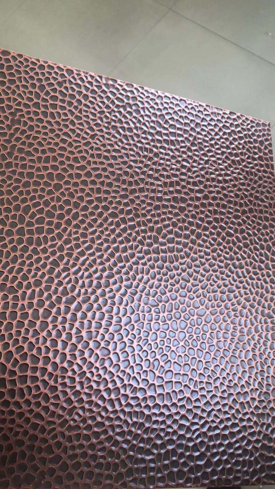 Hammered copper sheet boweite metal copper