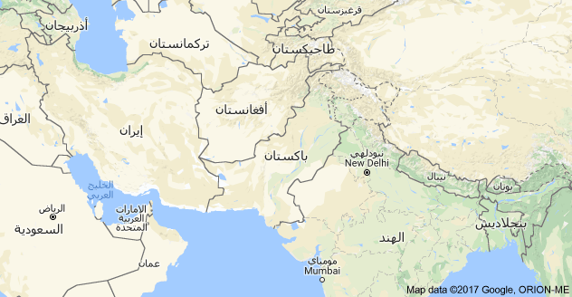 خريطة باكستان Pakistan Map Map Pakistan