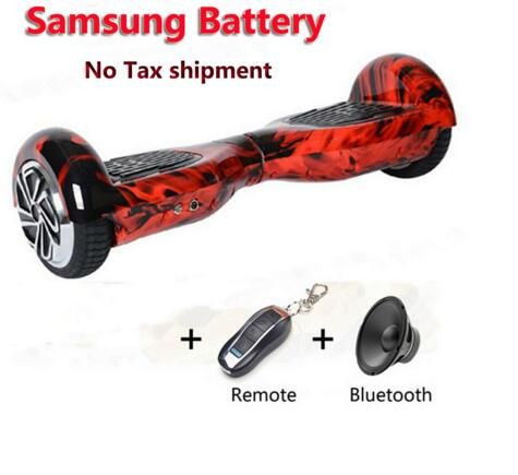 2 wheels 6 5 inch Electric Self Balancing Scooter Samsung