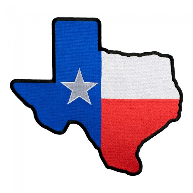 Texas State Flag Map Black Patch Texas Flag Patches Flag Patches Texas State Flag Patches