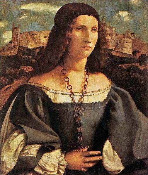 1515 Altobello Melone (1490-1543) Alda Gambara