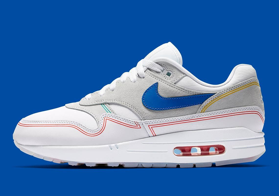 Where To Buy The Nike Air Max 1 Centre Pompidou | Chaussure