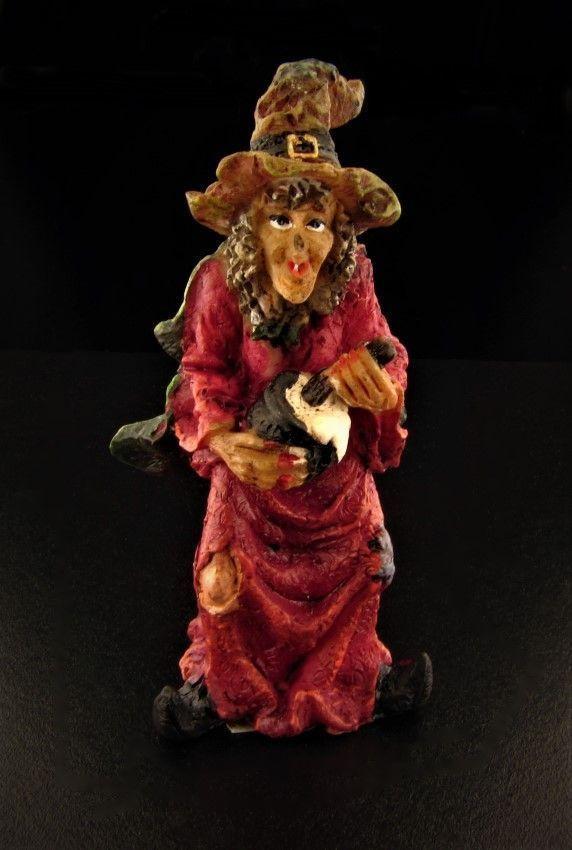 Miniature Fairy Garden Halloween Witch #3 Buy 3 Save $5