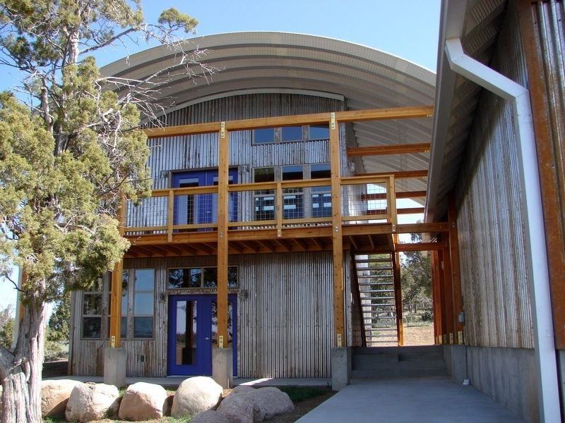 casa estructura acero interior green Quonset Hut Pinterest - interiores de casas